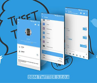 BBM Mod Twitter V3.2.0.6 Apk