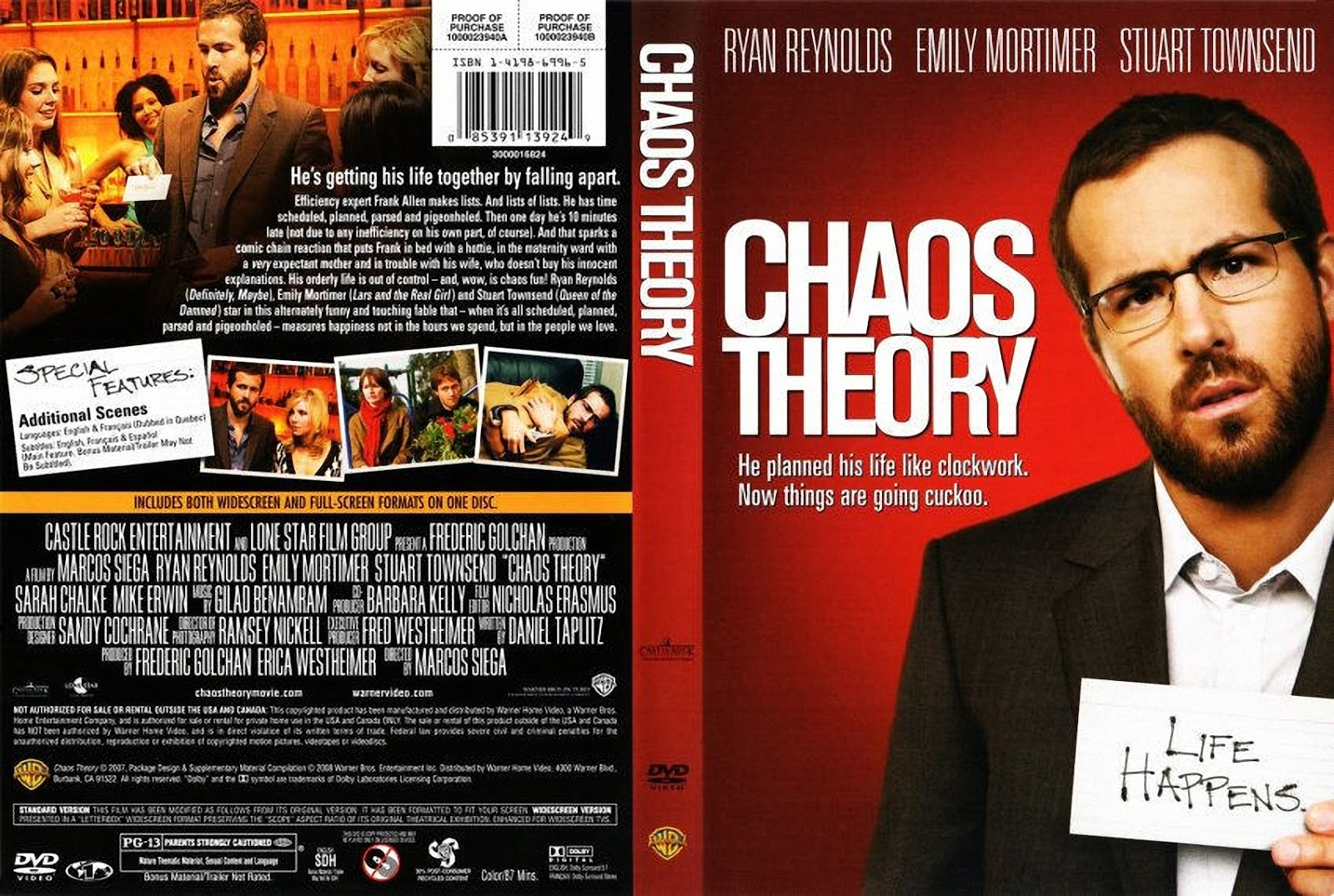 Chaos Theory Dvd