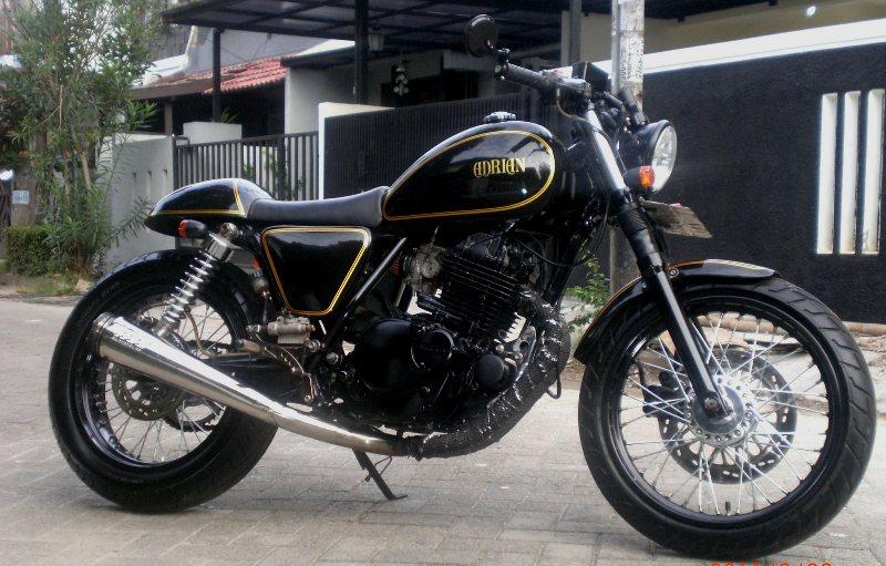 Modifikasi Motor Suzuki Thunder 250