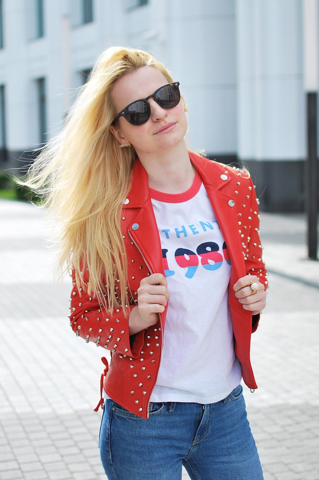 how to wear red jacket, moda popular, jeans outfit jacket,fashion trends jacket