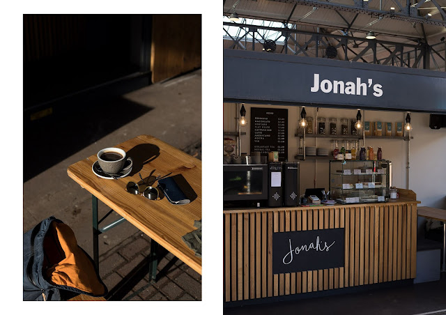 Jonah's Coffee Bar, at preston box market, speciality coffee uclan