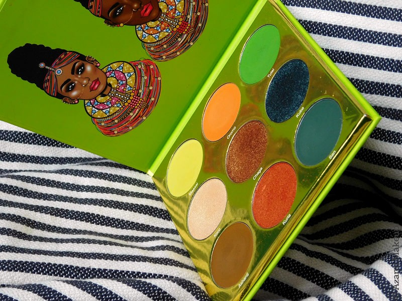 Juvia's Place - The Tribe Eyeshadow Palette - Beautybay - Ckarlysbeauty - Review & Swatches - Avis - Zulu - Masquerade - Warrior - Magic - Nubian - Festival - Douce