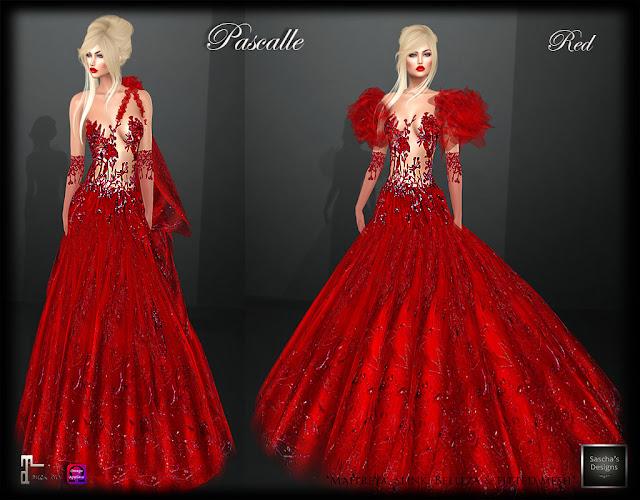 SASCHA'S DESIGNS - Pascalle Gown