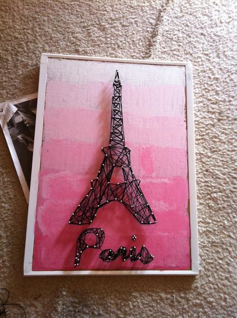 Crafty Son Of Stitch String Eiffel Tower