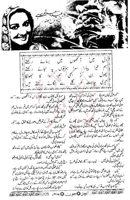 Free download Eid saeed tum se hai novel by Farah Bhutto pdf