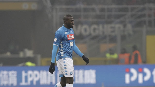 Real Madrid Competing With Man United For Napoli's Koulibaly