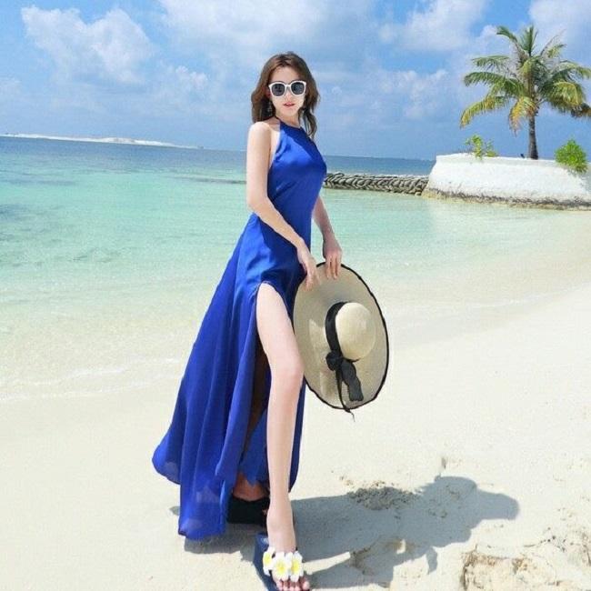Đầm Maxi chào hè cháy hàng với phong cách nổi bật và gợi cảm - 9