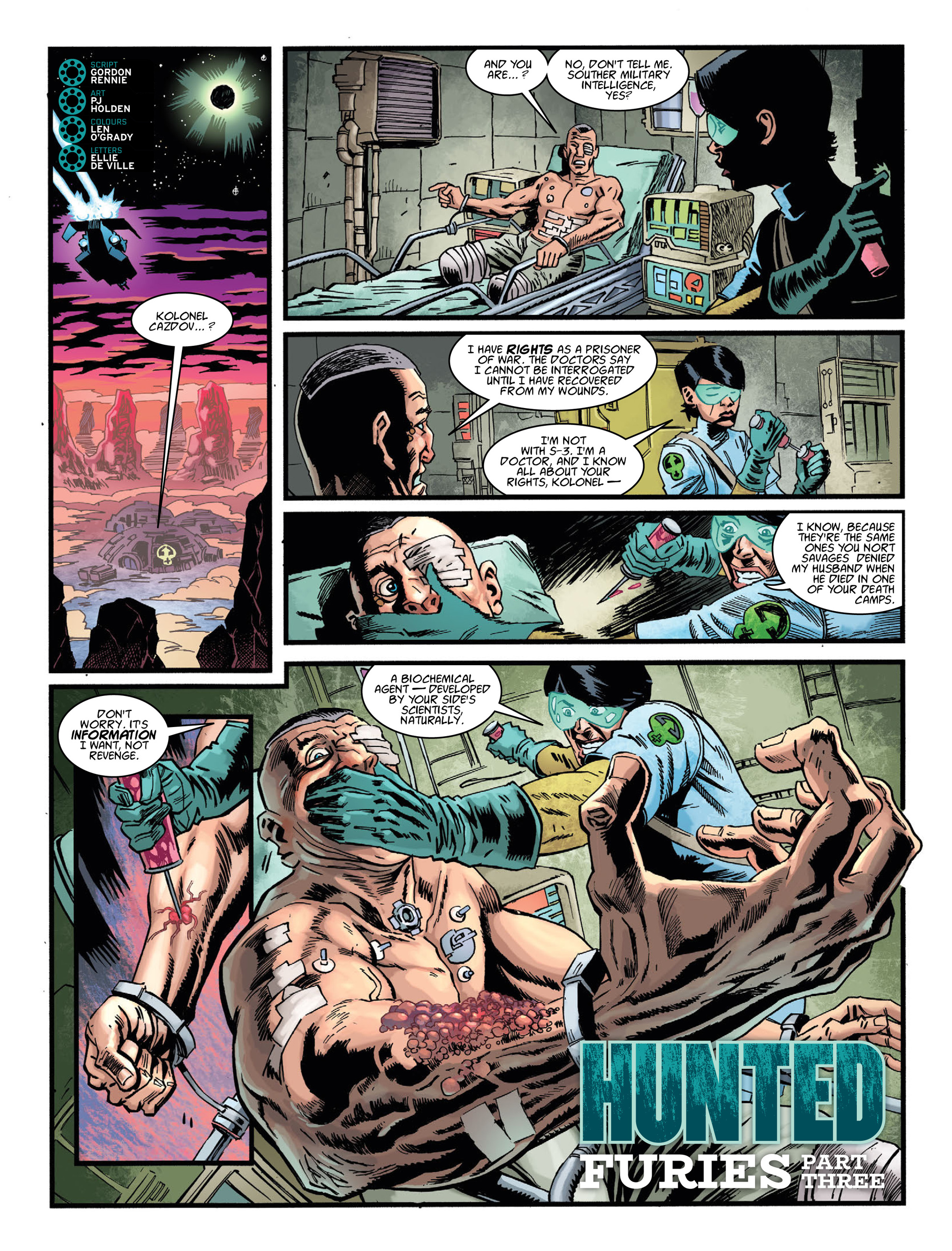 Read online 2000 AD comic -  Issue #2036 - 26