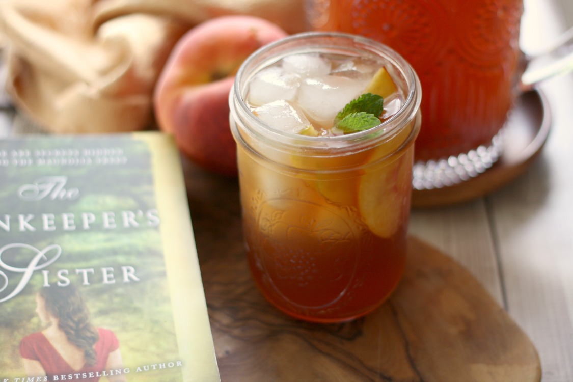 Peach Iced Tea and Peach Simple Syrup recipe