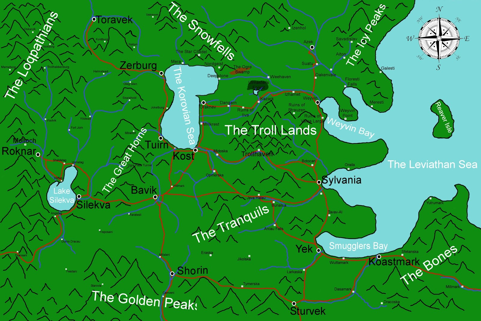 Korovia free license fantasy world maps maps gumiabroncs Image collections