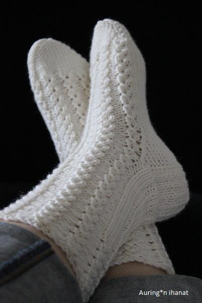 Auring*n ihanat: Pitsisukat ja rumat sukat