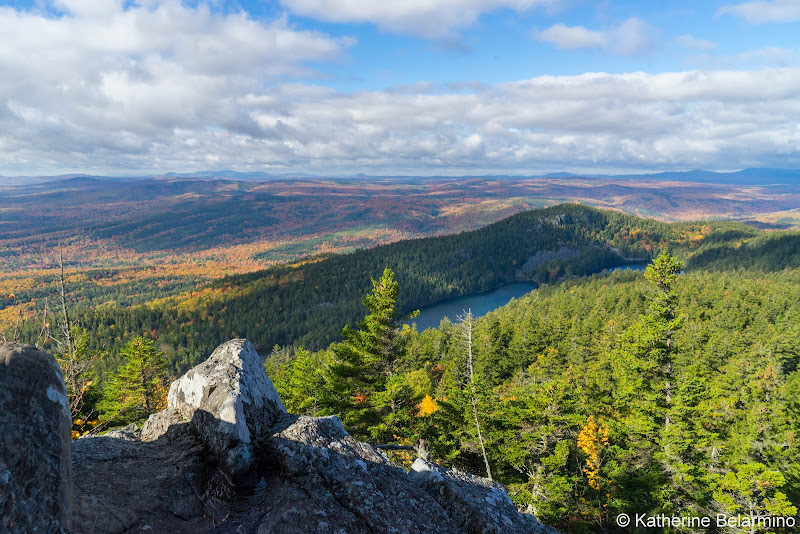 Borestone Mountain Summit View Maine Hiking Moosehead Pinnacle Pursuit