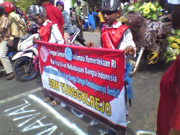 Foto SDN Tunggulrejo pada Festival Karnaval Kecamatan Singgahan Tuban 2014