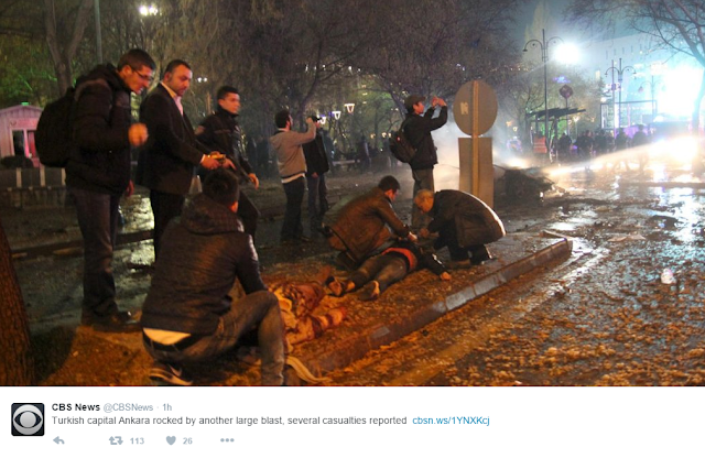 NEWS | Deadly Car Bomb Killed 29 People in Ankara