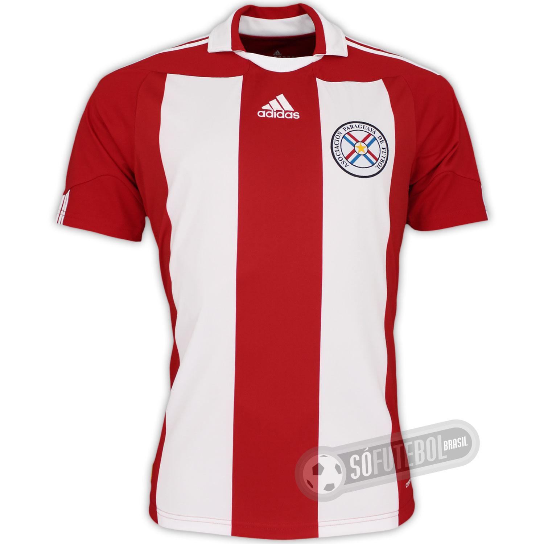 ce25435aa27dd Minhas Camisas do Fogão  Modelo 05 (Adidas Seleção do Paraguai)