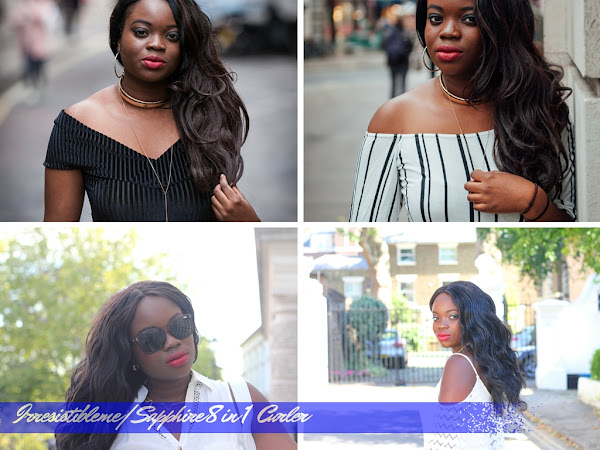 BEAUTY| IRRESISTIBLE ME SAPPHIRE 8 IN 1 CURLER REVIEW