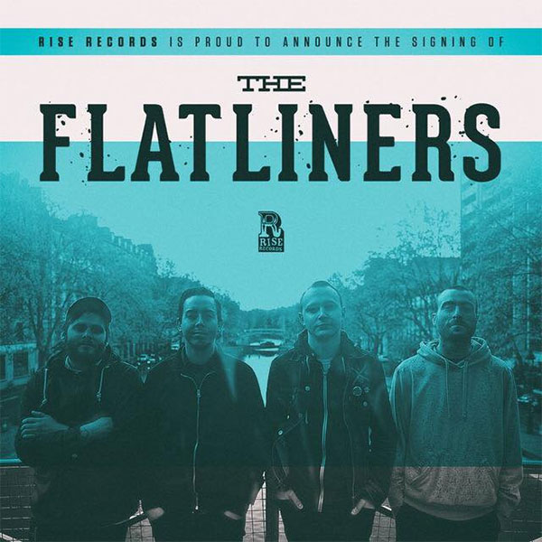 The Flatliners sign to Rise Records, announce 2017 release