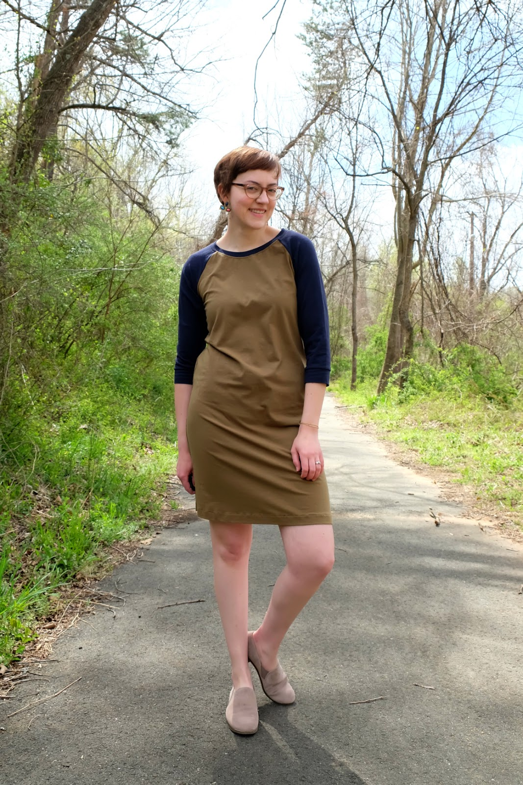 National Picnic Home Base Dress made in usa review stylewise-blog.com