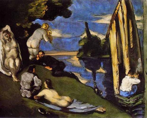 Pastoral - Paul Cézanne e suas principais pinturas ~ O fundador da Arte Moderna