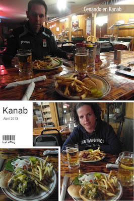cenando en kanab