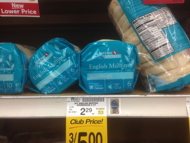 English Muffins, Sourdough - Safeway Kitchens