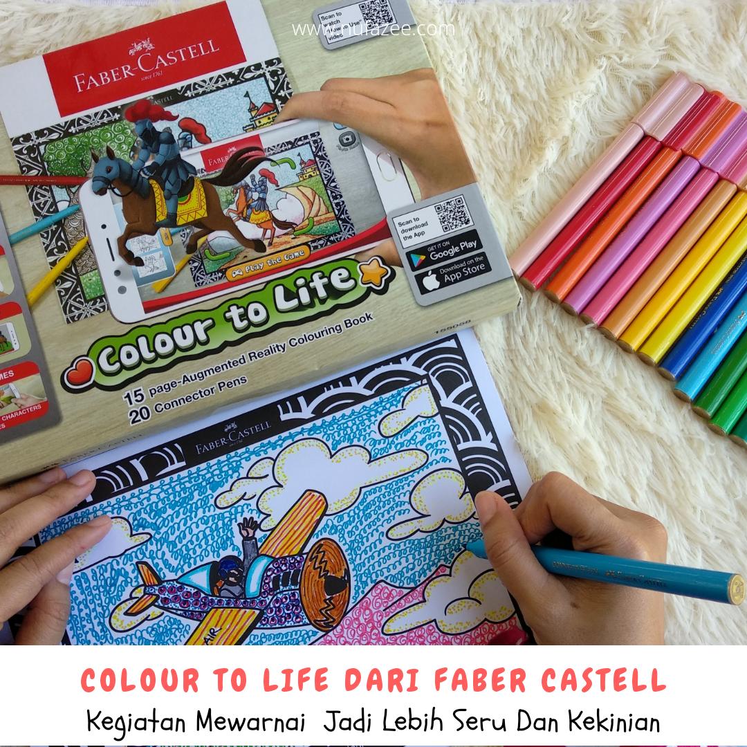 Colour To Life Dari Faber Castell Kegiatan Mewarnai Jadi