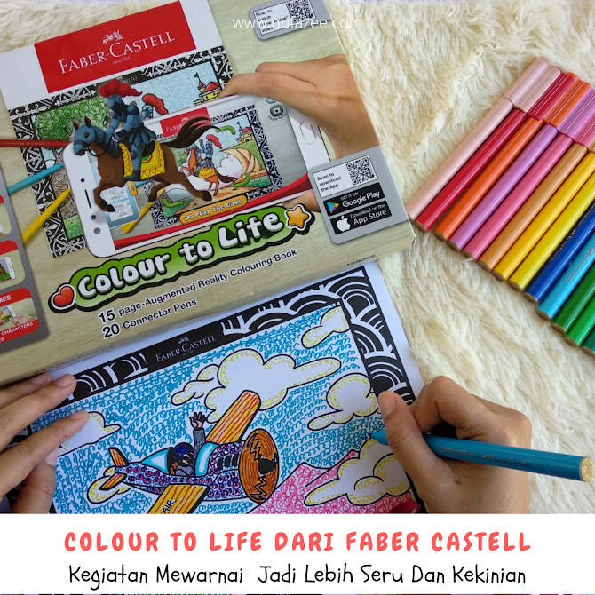 Colour To Life dari Faber Castell : Kegiatan Mewarnai Jadi Lebih Seru dan Kekinian