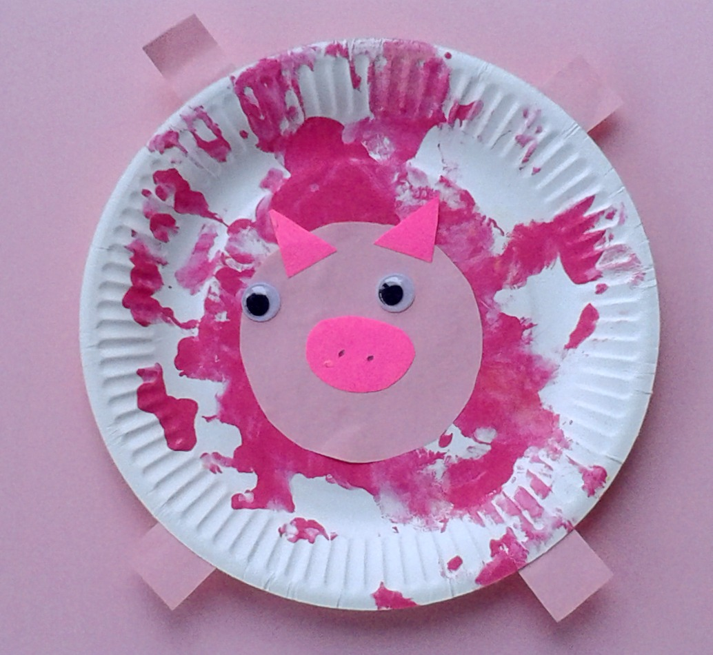 Baby Farm Animal Crafts For Toddlers
