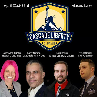 2017 Libertarian Party of Washington (LPWA) State Convention in Moses Lake, WA