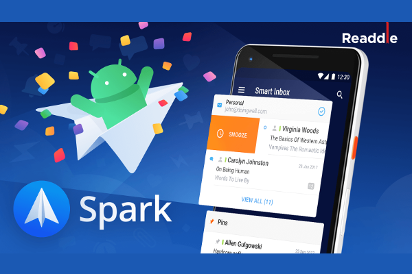 Readdle launches Spark email app for Android