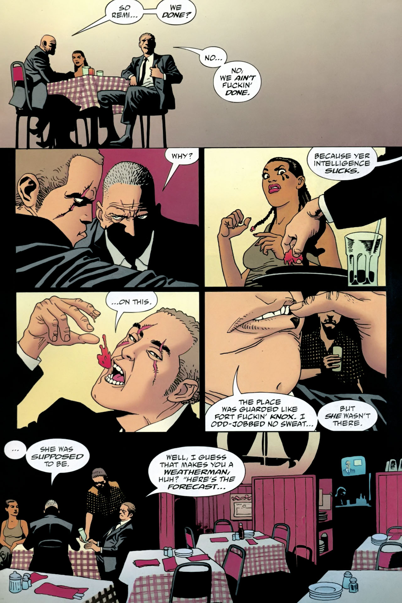 Read online 100 Bullets comic -  Issue #87 - 16