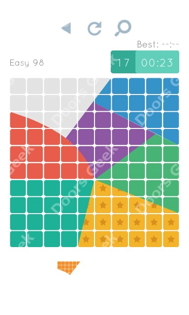 Cheats, Walkthrough for Blocks and Shapes Level 98