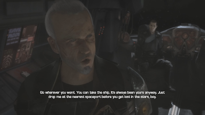 A scene with General Kota who has completely changed since the original Force Unleashed