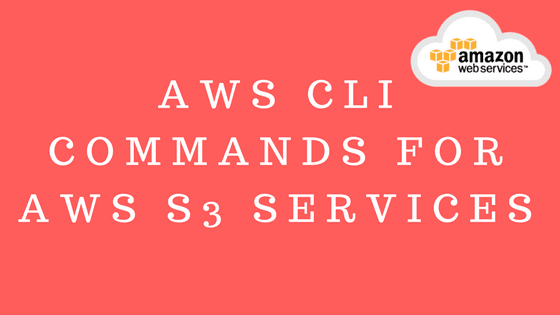 AWS S3 Services new