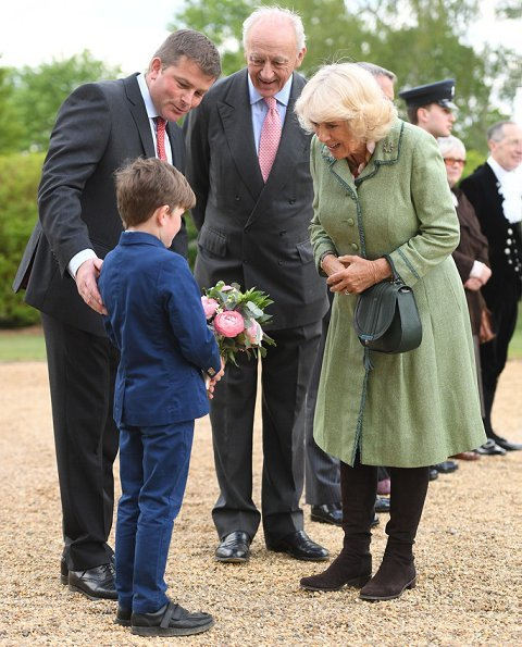 The Duchess visited the Newmarket operation for the first time since being appointed its first ever patron last November