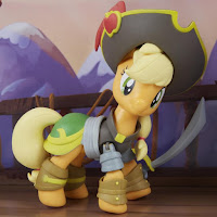 MLP The Movie Guardians of Harmony Good vs Evil Applejack Figure