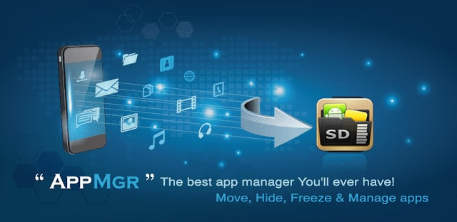 AppMgr Pro III (App 2 SD, Hide and Freeze apps)  apk For Android