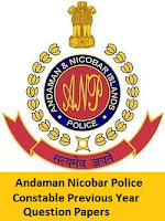 Andaman Nicobar Police Constable Previous Year Question Papers
