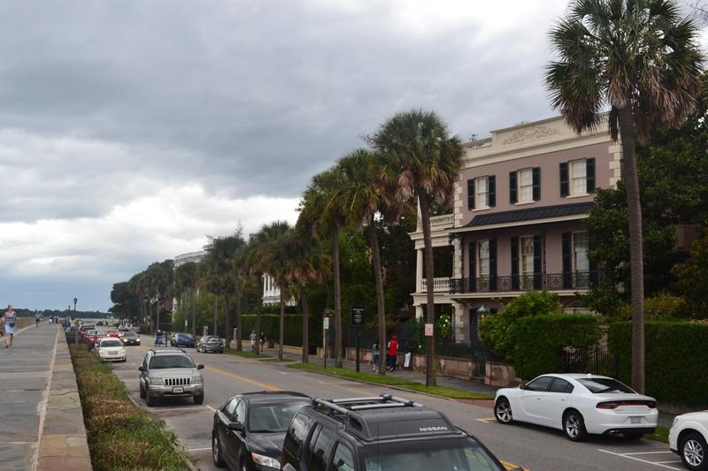 Charleston, Caroline du Sud, South Carolina, usa, etats-unis, expatriation, voyage, battery, water front