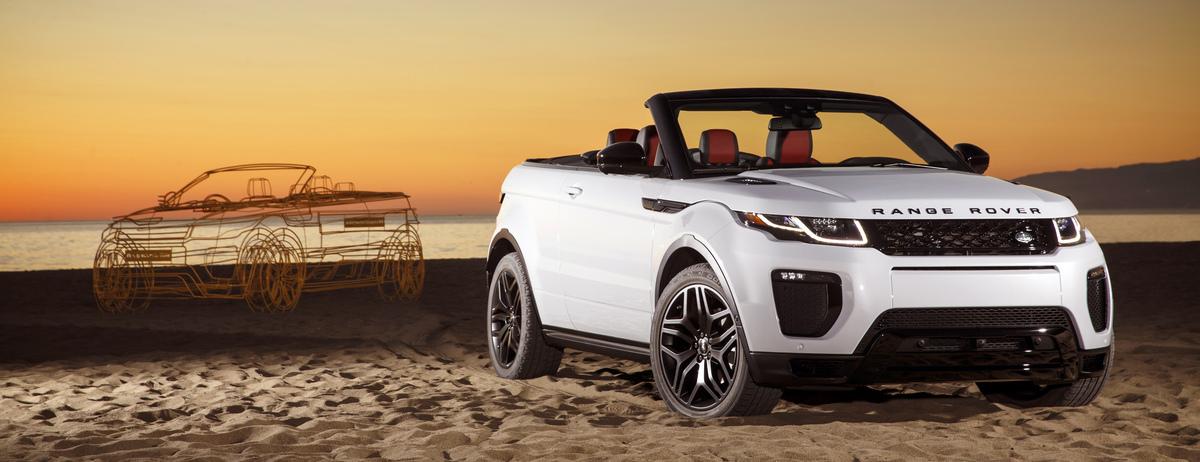 Nuova Range Rover Evoque Convertibile | Primo SUV premium cabriolet