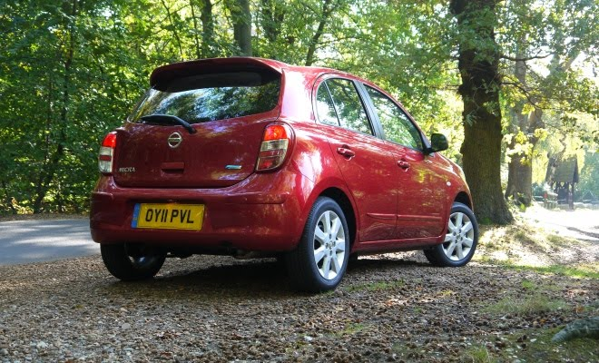 Nissan Micra DIG-S rear view