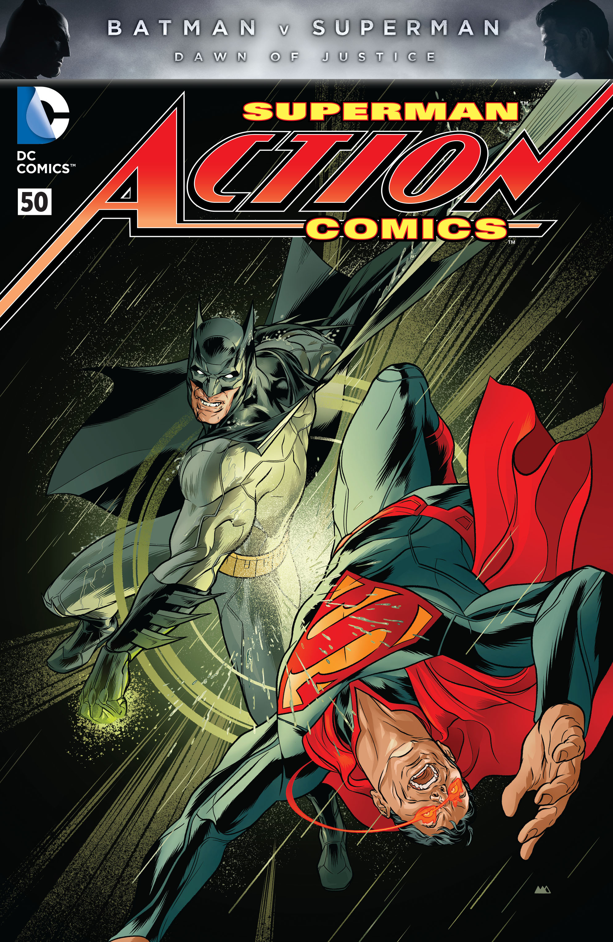 Read online Action Comics (2011) comic -  Issue #50 - 5