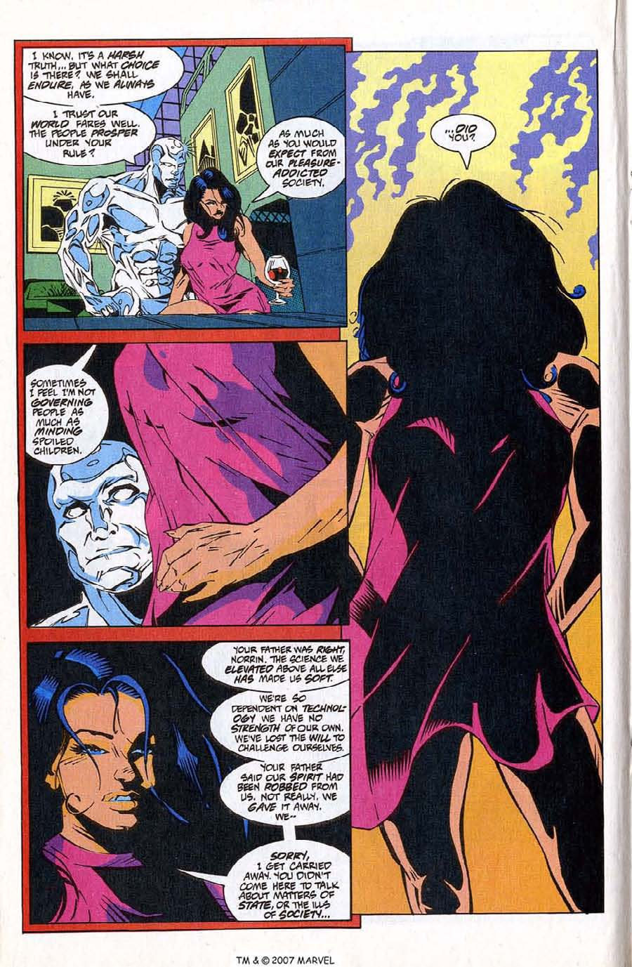 Read online Silver Surfer (1987) comic -  Issue #83 - 18
