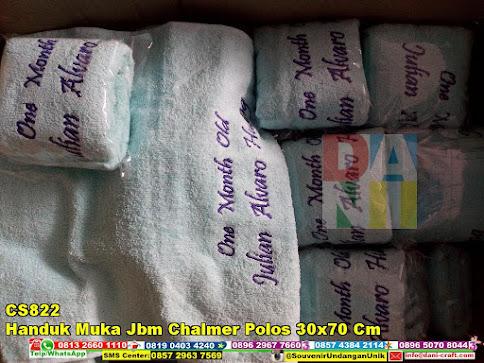 jual Handuk Muka Jbm Chalmer Polos 30x70 Cm