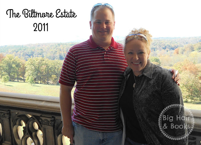 The Biltmore Estate tour - photo stop on the terrace #america #travel