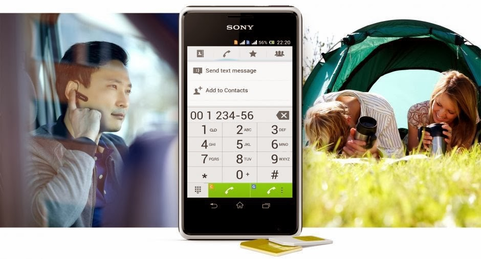 Sony XE1D Android Jelly Bean Dual Core Layar 4 inch