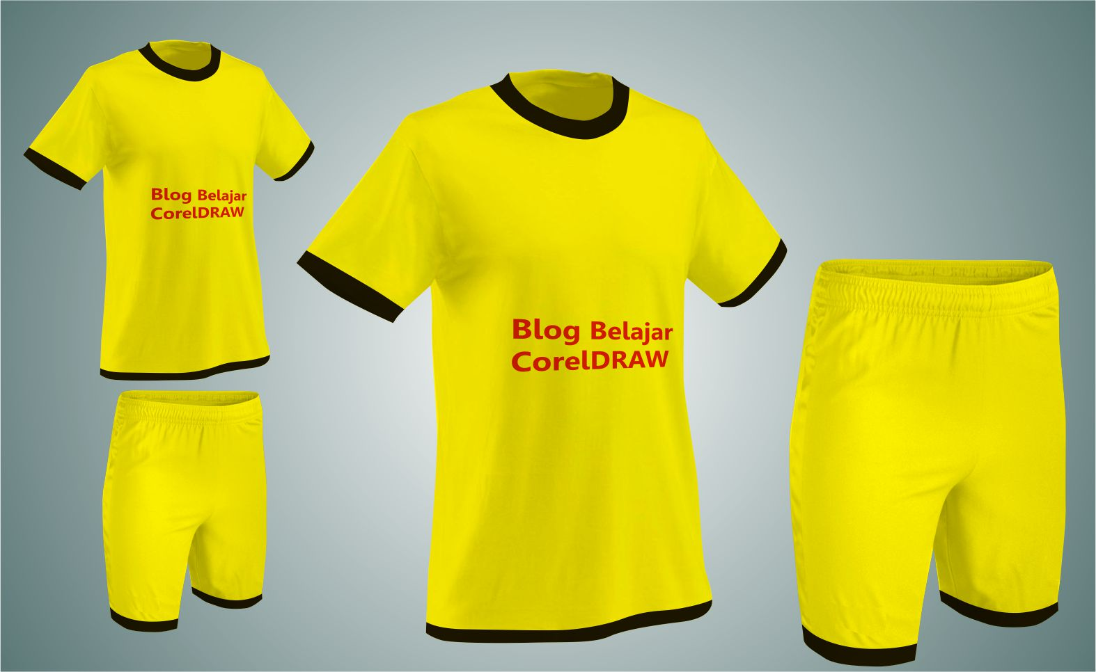 Download Template Jersey Futsal Cdr