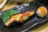 Grilled Black Cod with Saikyo Miso at Ganchan in Tokyo