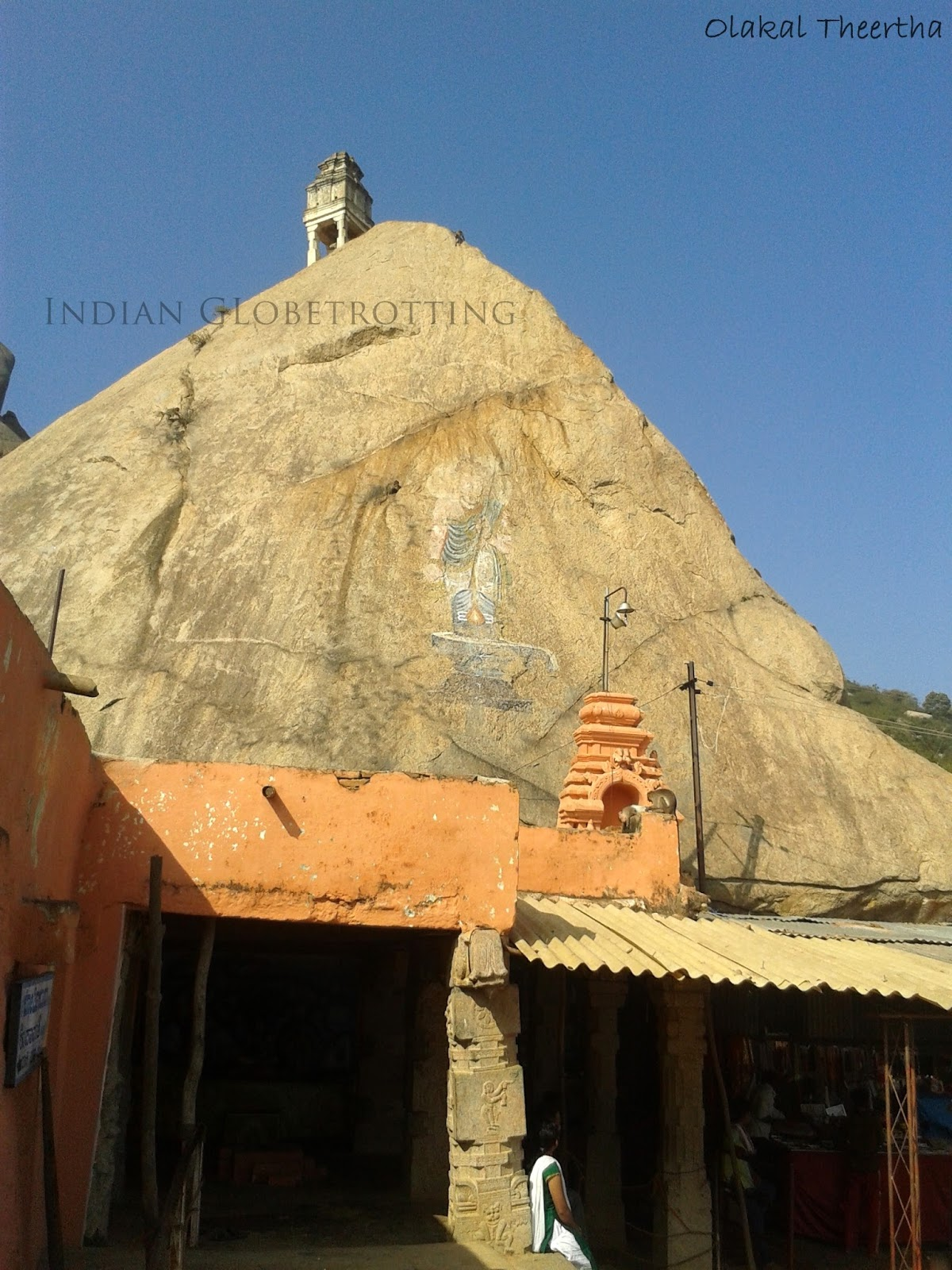 Olakal Theertha temple on the way to shivaganga betta