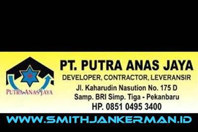 Lowongan PT. Putra Anas Jaya Pekanbaru Juni 2018